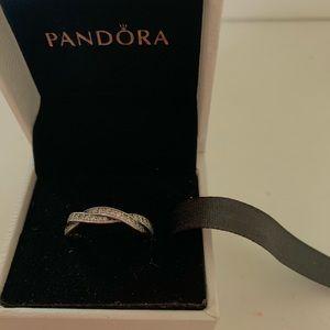 Pandora promise ring size 6
